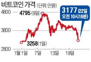 비트코인 2주 새 30% 폭락