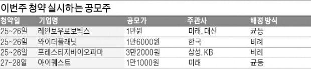 '비례배정 막차' 공모株로 뭉칫돈 몰린다