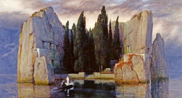 죽음의 섬, 1883년, 알테 내셔널갤러리(베를린) 소장