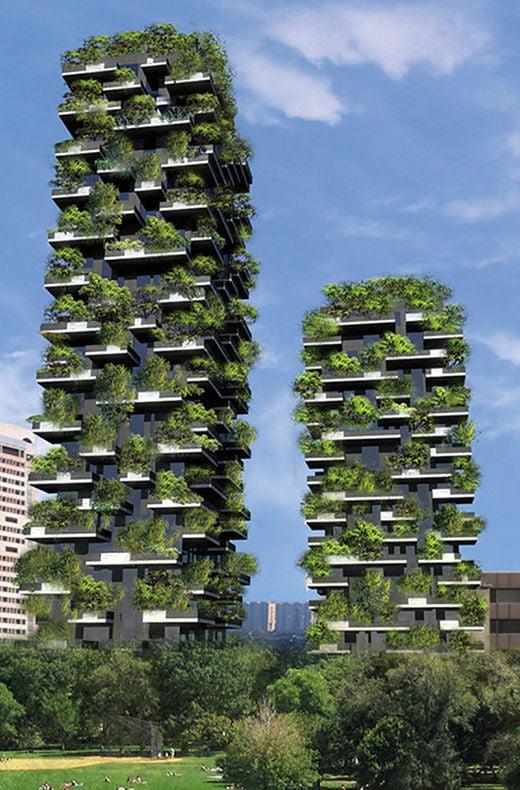 보에리의 그린프로젝트 '수직숲'보에리의 그린프로젝트 '수직숲'