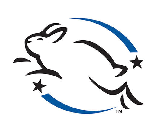 북미주를 대표하는 동물보호단체 8개가 연합해 만든 CCIC(the Coalition for Consumer Information on Cosmetics)가 크루얼티-프리 제품에 인증하는 리핑 버니(Leaping Bunny) 마크