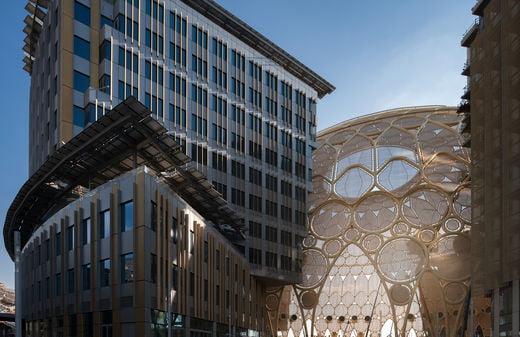 2020 두바이 엑스포가 개최될 알 와슬 플라자.