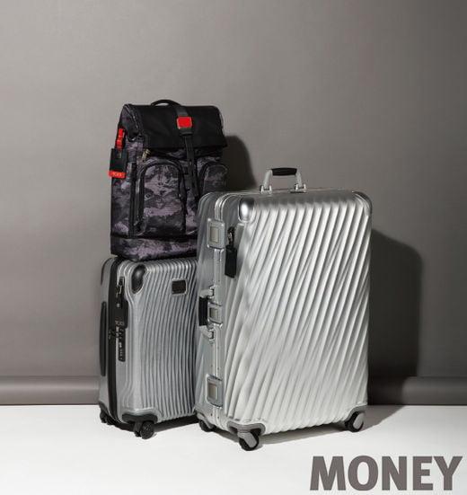 투미 19 디그리 알루미늄 장거리 여행용 패킹 케이스, 래티튜드 인터내셔널 캐리온 캐리어와 알파 브라보 롤 탑 백팩