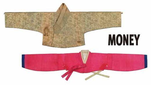 저고리(18세기)겨드랑이와 젖가슴이 보일 정도로 짧은 저고리(조선후기)