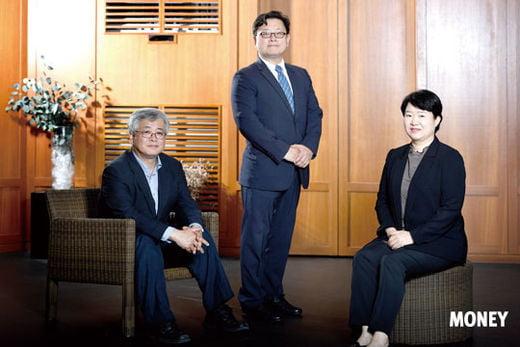 왼쪽부터 심교언 건국대 부동산학과 교수, 홍춘욱 키움증권 투자전략팀장, 함영진 직방 빅데이터랩장.