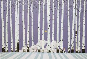 '그대는 꽃, 나는 나무', 89.3×130.3㎝, acrylic on canvas, 2014년