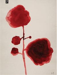 7. , 2009년, 종이에 구아슈, 59.6x45.7cm