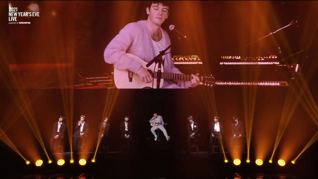 홀로그램으로 부활한 신해철, 빅히트 가수들과 시공초월 무대
