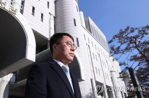 검찰, '사법농단 연루' 유해용에 2심서도 실형 구형(종합)