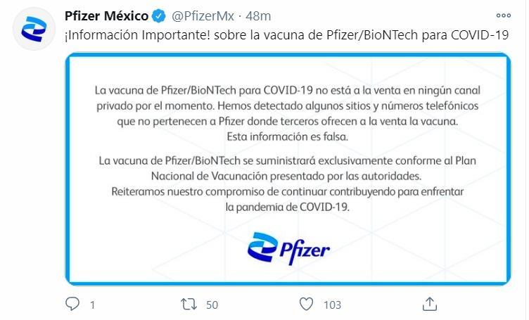 멕시코서 인터넷 판매 '가짜 코로나19 백신' 주의보