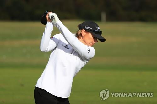 "LPGA대회 나서는 소렌스탐 ""9세 아들이 골프 열정 일깨워"""