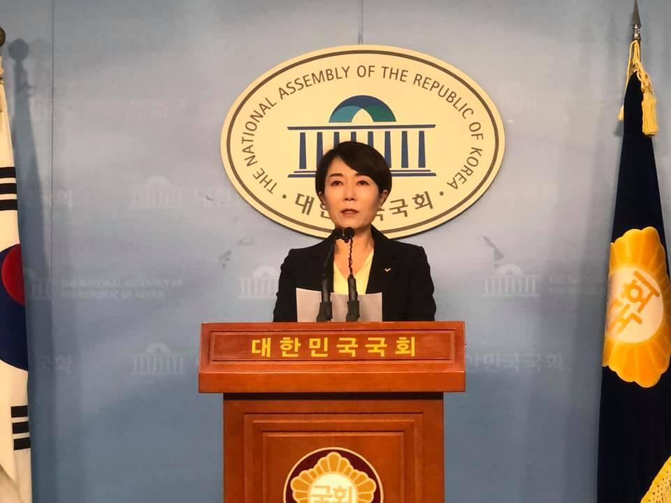 """정의 """"박영선 출마용 개각…국민 눈높이에 안맞아"""""""