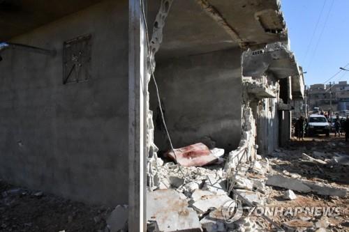시리아 중부서 이스라엘 공습으로 일가족 4명 사망