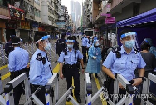 홍콩 1만명 봉쇄한 날 코로나 누적환자 1만명 넘어(종합)
