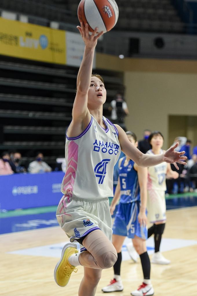 여자농구 삼성생명, 박혜진 빠진 우리은행에 시즌 첫 승