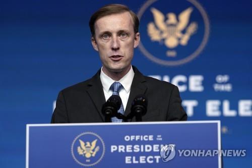 """美안보보좌관 """"쿼드는 인도태평양 정책의 토대…더 발전시킬 것"""""""
