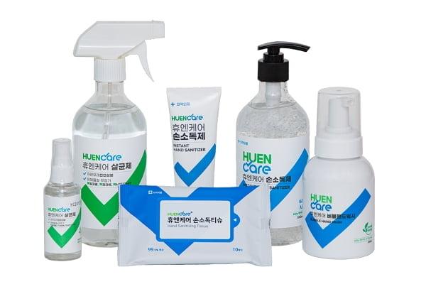 살균소독 해충방제 서비스 전문업체 `휴엔케어` 위생용품 런칭