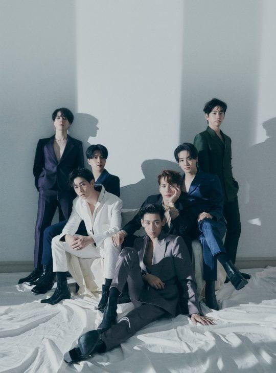 그룹 갓세븐 / 사진 =  JYP엔터테인먼트 제공