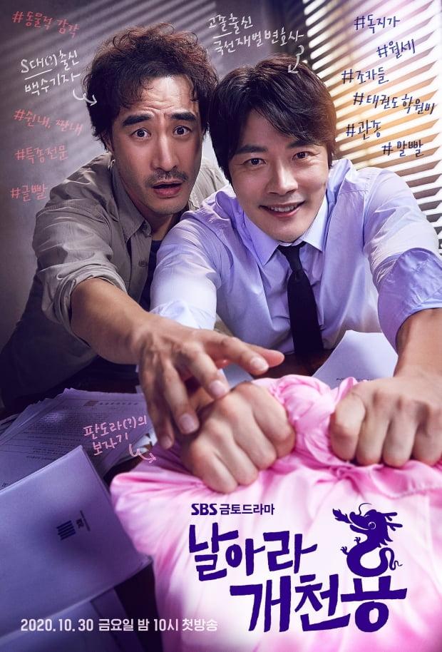 SBS 금토드라마 '날아라 개천용' 메인 포스터. /사진제공=SBS