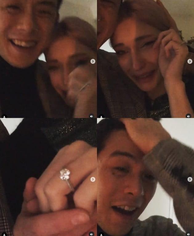 내 머리가 하얗고 눈물이 난다 … 빈 지노 ♥ 미초 베 다이아몬드 링 프로포즈