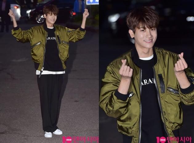 [타임머신] 박형식이 돌아왔다…헌병대 복무 끝 '미복귀 전역'
