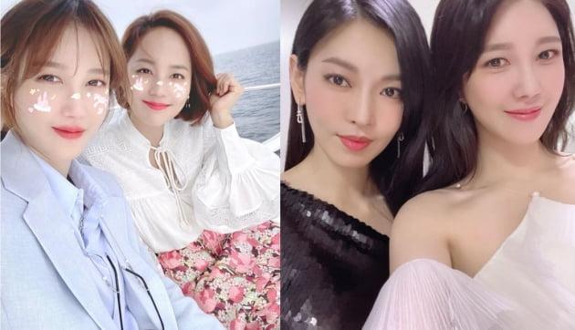 배우 이지아(왼쪽부터), 유진, 김소연/ 사진=이지아 인스타그램