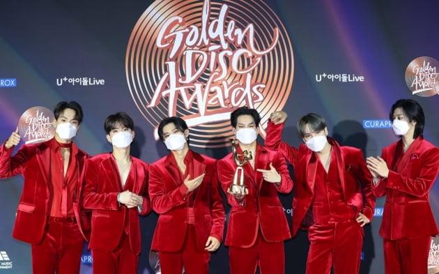 골든디스크 음반 대상은 BTS…몬스타엑스, 베스트 그룹상 수상