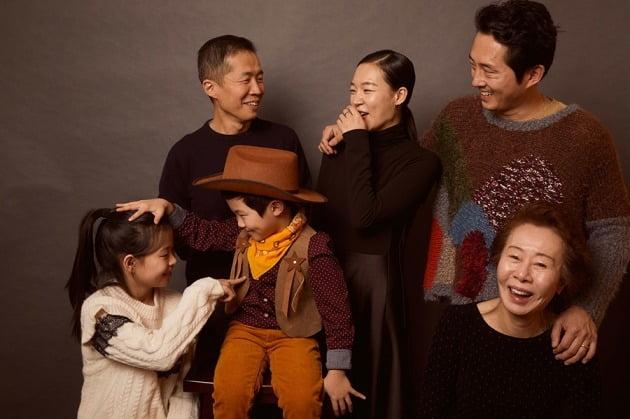 영화 '미나리'의 주역들. / 사진제공=판씨네마
