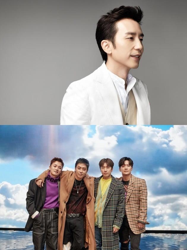 '뒤돌아보지말아요' 유희열(위)와 젝스키스/ 사진=tvN 제공