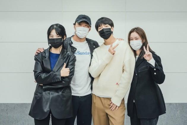 '마우스' 대본리딩./사진제공=tvN