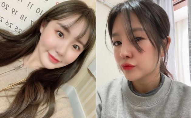 배우 이예림(왼쪽)과 개그맨 이용식의 딸 이수민/ 사진=인스타그램 캡처