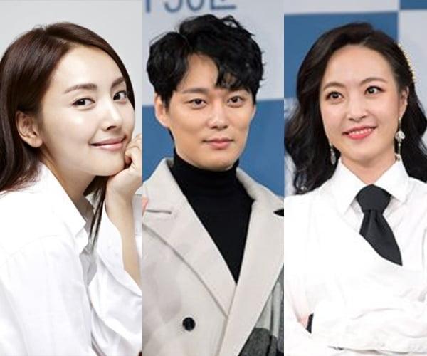 배우 홍인영(왼쪽부터) 전승빈, 심은진/ 사진=소속사, 텐아시아DB