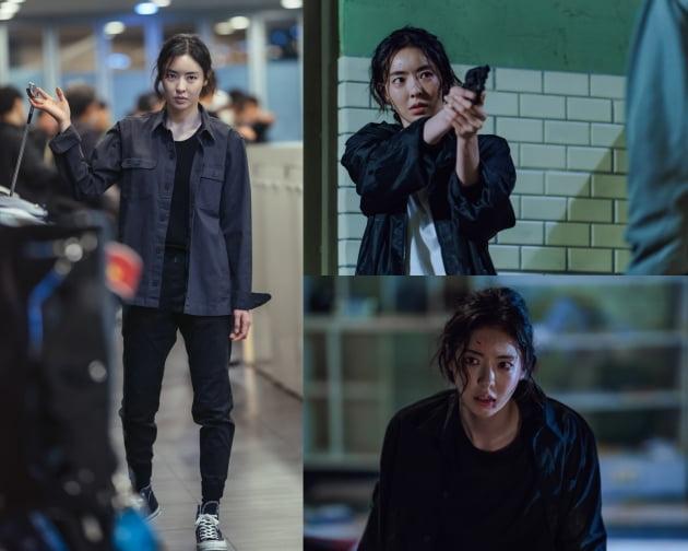 '루카 더 비기닝' 이다희 스틸컷/ 사진=tvN 제공