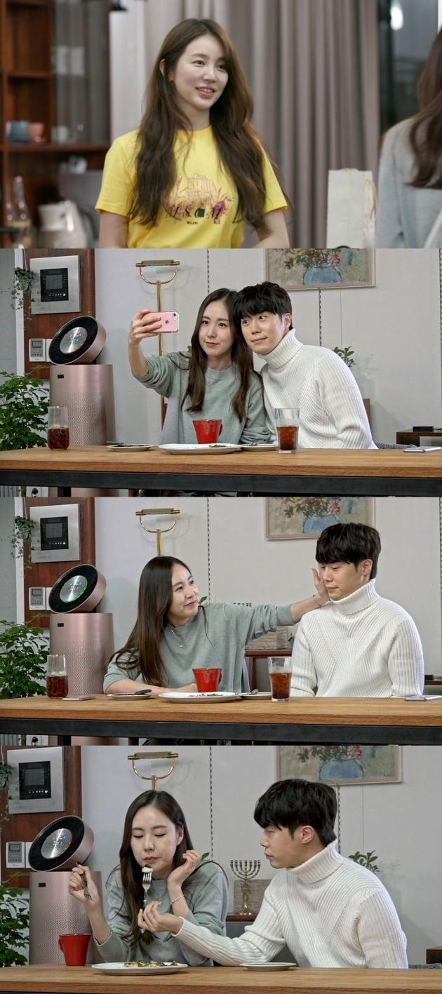 간미연-황바울 부부가 윤은혜 집에 방문했다. / 사진제공=KBS '편스토랑'