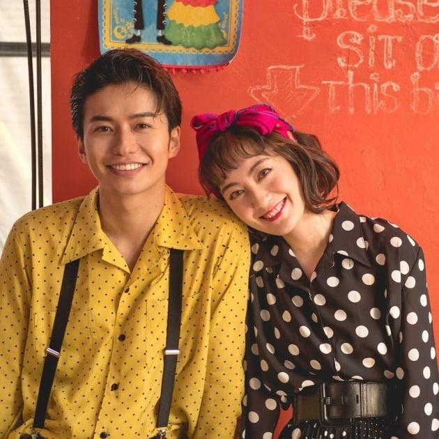 일본 배우 타케다 코헤이-마츠야마 메아리 / 사진=타케다 코헤이, 마츠야마 메아리 인스타그램