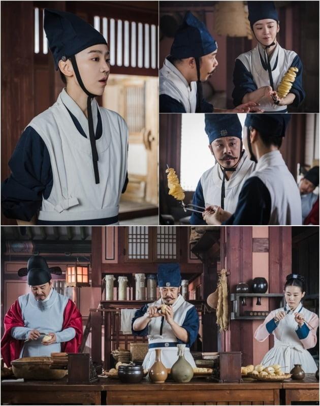 '철인왕후' 신혜선이 수라간 숙수로 변신한다. / 사진제공=tvN