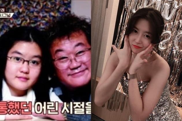 이용식 딸 이수민 /사진=JTBC, 인스타그램