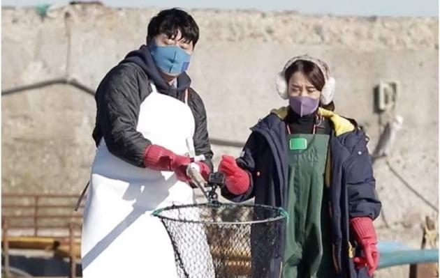 양준혁 방어 양식장 데이트/사진=KBS 2TV '살림하는 남자들 시즌2'