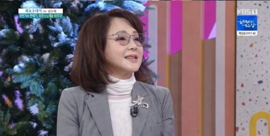 가수 김수희/사진=KBS 1TV '아침마당' 영상 캡처