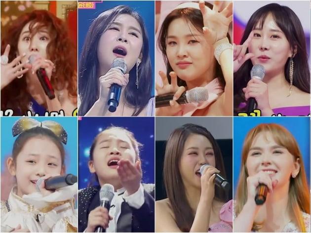 '미스트롯2' 화제의 참가자들/ 사진=TV조선 제공