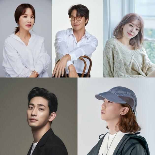 '온앤오프' 새 출연진/ 사진=tvN 제공