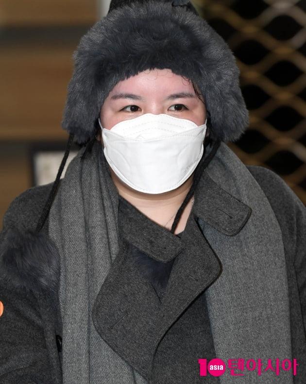 [TEN 포토] 에이미 '강제출국 5년만에 한국 입국'
