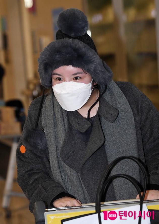 [TEN 포토] 에이미 '입국 금지 기간 만료 입국'