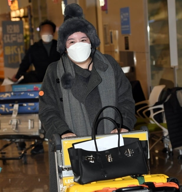 [TEN 포토] 강제출국 당한 에이미 한국에 오다