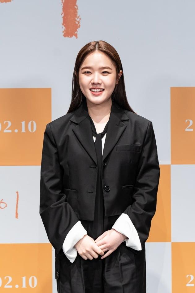 배우 김향기가 영화 '아이'의 온라인 제작보고회에 참석했다. / 사진제공=롯데엔터테인먼트