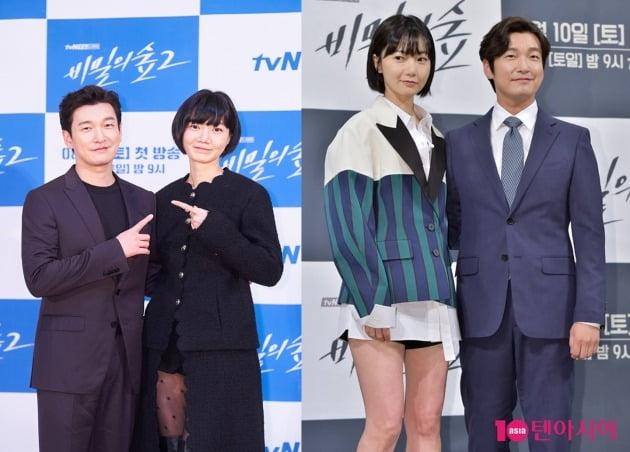 배두나와 재회 (비밀의 숲 1,2  사진=tvN 제공, 텐아시아 DB)