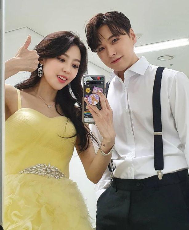 슈퍼주니어 성민, 김사은 부부/사진=김사은 인스타그램