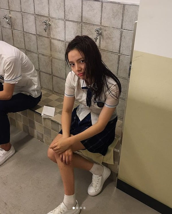 물 맞은날 (2017년 07월) 사진=SNS