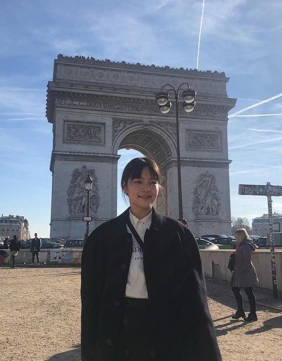 프랑스 여행중 (2019년 02월) 사진=SNS