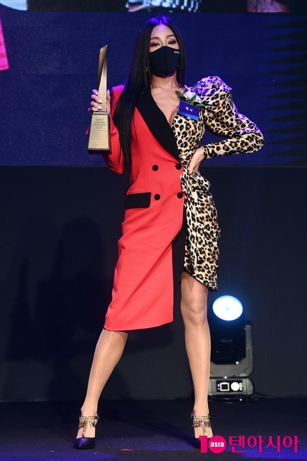 [TEN 포토] 제시 '몸매는 핫 의상은 쿨'